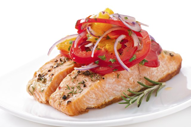 Oily fish like like salmon are a great source of omega-3s.