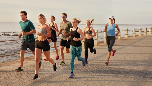 Run with a slower group sometimes to make sure you're not overtraining.