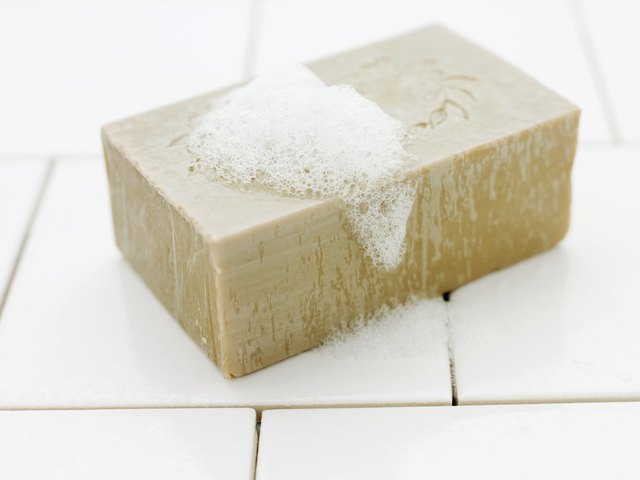 Seaweed soap helps reduce acne breakouts and unclog pores.