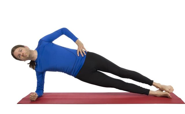 Side planks work other core and hip muscles more than back muscles.