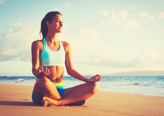 A quiet, meditative practice can't get you into physical shape.
