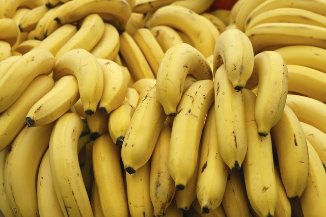 A banana is a good source of potassium and can improve mental clarity.