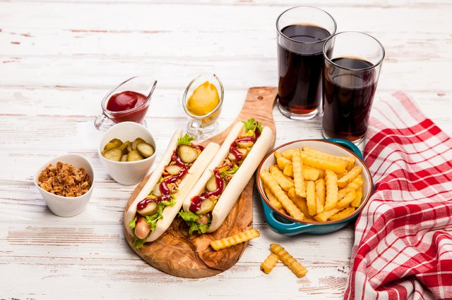 Processed meats, fried foods and sugary sodas cause inflammation.