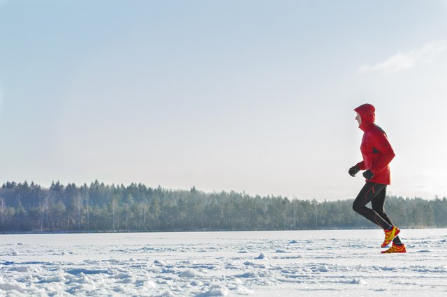 Running in the cold can make your airways tighten, which is painful.