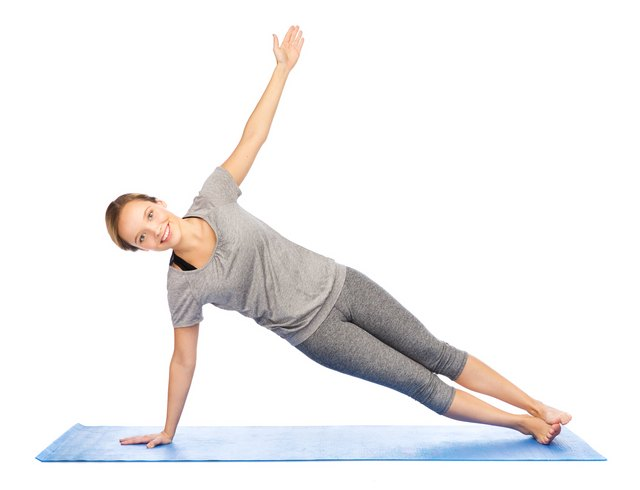 Do a side plank at the top of each push-up to challenge your obliques and balance.