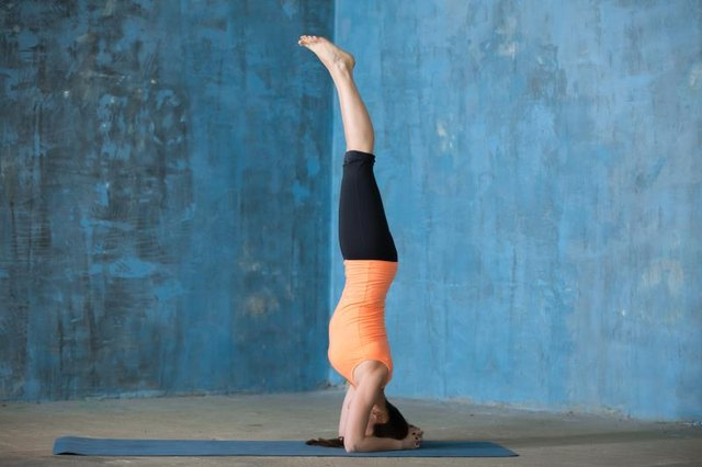 Consider saving headstand for other times of the month.