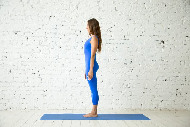 Mountain pose activates your root chakra.
