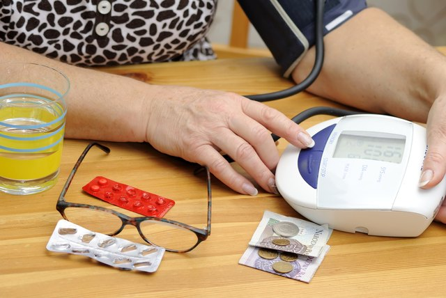 Keep a record of your blood pressure scores.