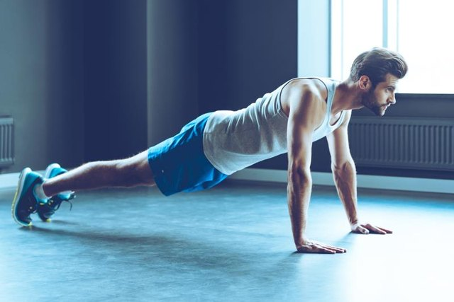 The plank is a safer alternative to the crunch.