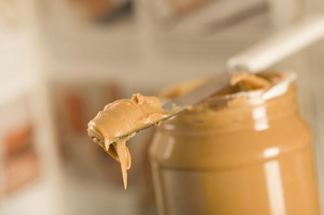 Mix some yummy peanut butter with the rest of the ingredients.