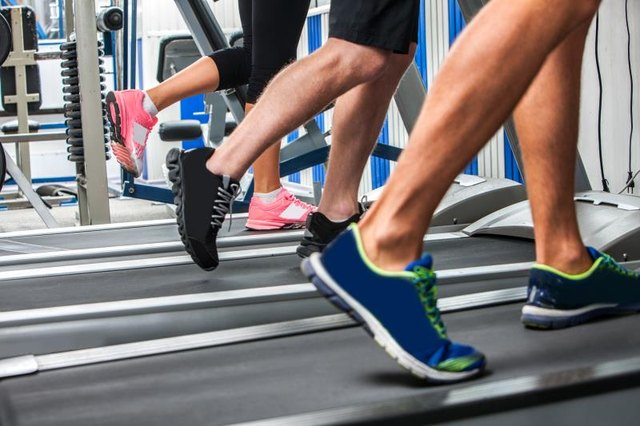 Cardio workouts on the treadmill train your heart more than your abs.