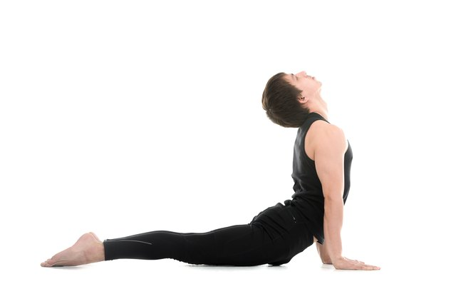 Cobra pose brings clearance to the chest area.