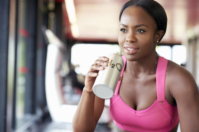 How often during your gym session do you stop to drink?