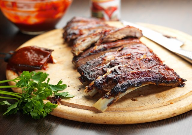 the saturated fat in pork can aggravate ulcers