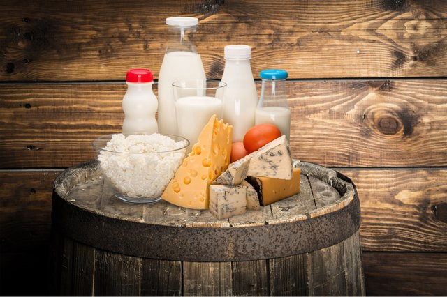 All types of dairy are OK to consume while taking amoxicillin.