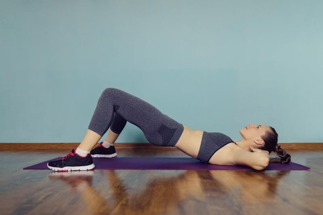 Maintain a light deep-core connection throughout each exercise.