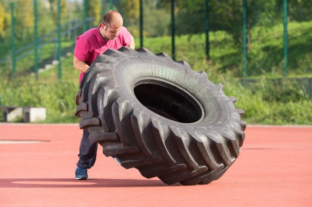 Tire Dragging Exercises
