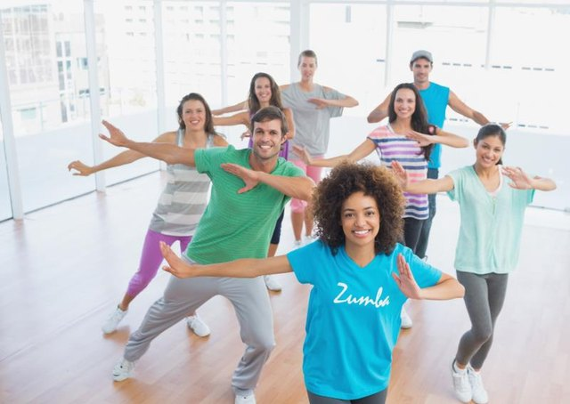 Zumba is fun for all ages and fitness levels.