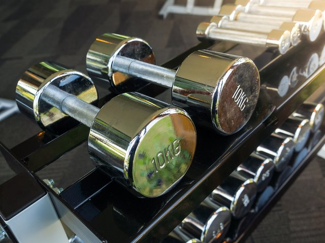 You'll likely use lighter dumbbells for flyes as compared to rows.