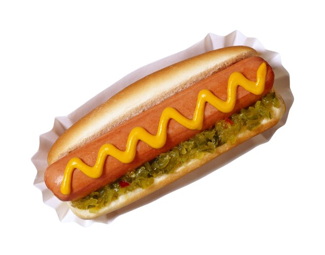 Avoid high salt foods like hot dogs.