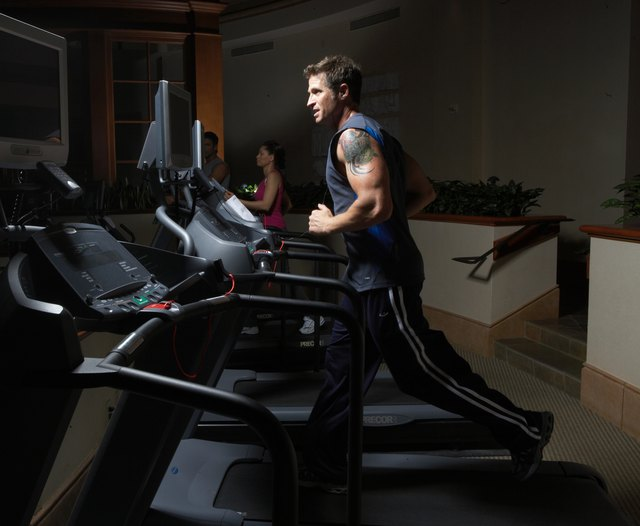 The treadmill is key in the endurance circuit.