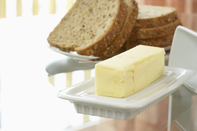 Butter and wheat bread