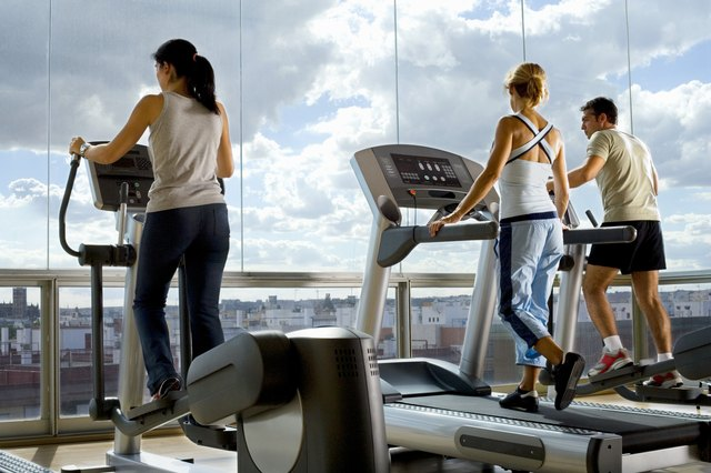 Consult with your doctor to find out if an elliptical trainer is safe while recovering from your injury.