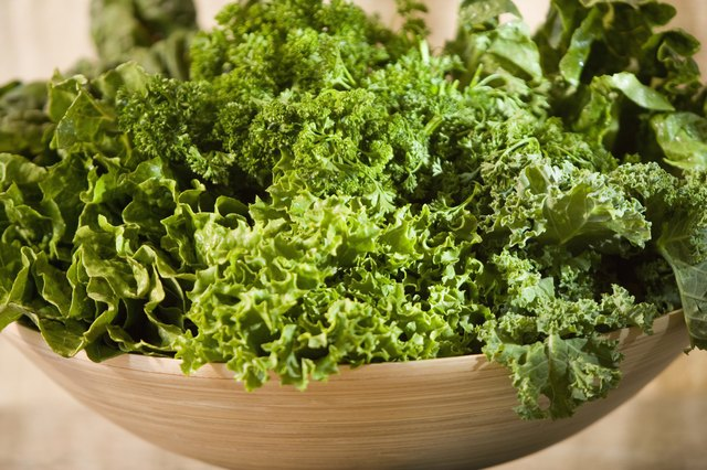Include at least 1½ cups per week of dark green vegetables in your diet.