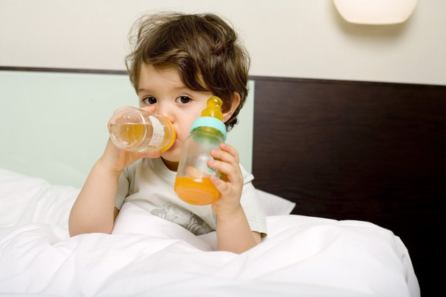 You should make sure to keep your child hydrated and nourished.