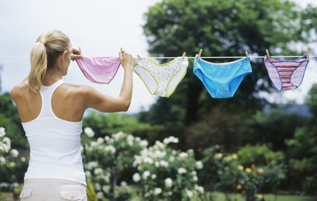 Loose-fitting underwear can ease pressure around the groin and abdomen.