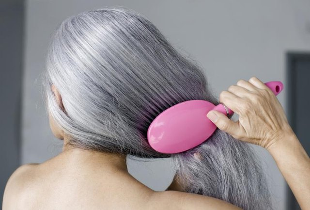 How to Pluck Gray Hair