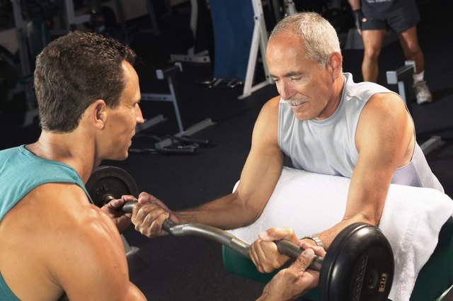 Building muscle mass after 60 years old