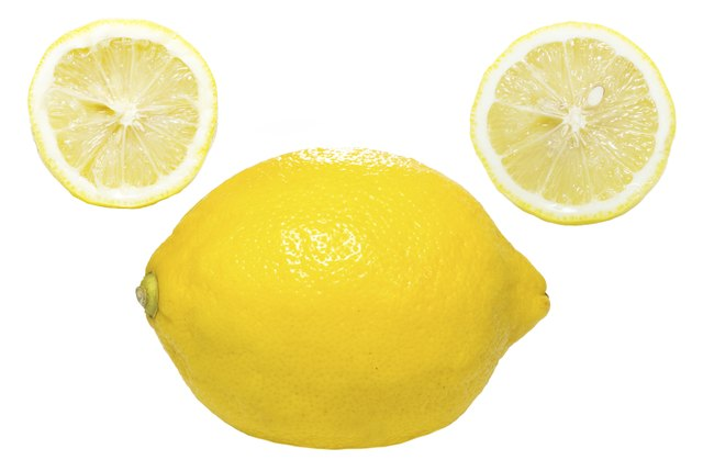 Lemons and lemon juice.