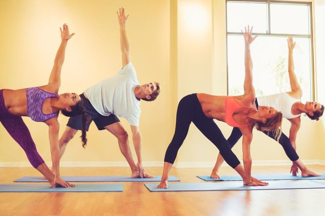 Regular practice helps your body become more flexible in the postures.