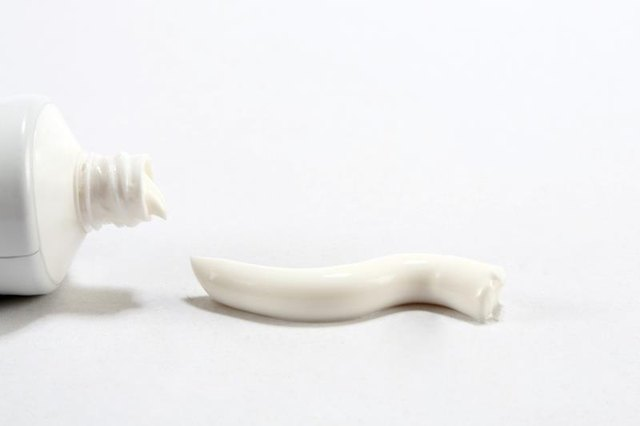 All-white toothpastes may be more effective than gels in drying up a blackhead or pimple.