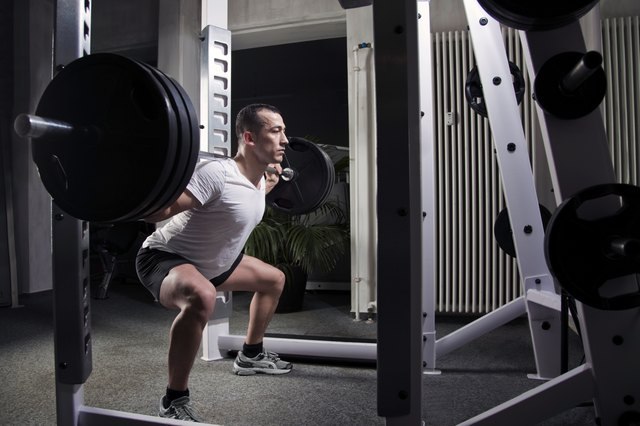 You can injure your knees doing full squats