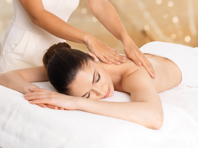 Massage and physical therapy can help tame muscle spasms.
