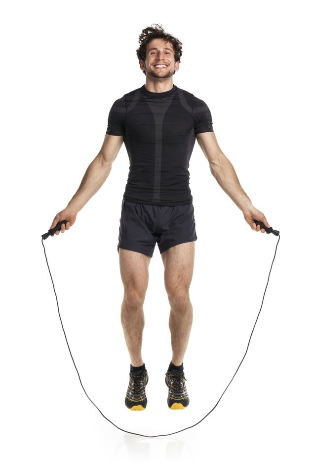 High-intensity rope-jumping is ideal for calorie-burning and building strength over time.