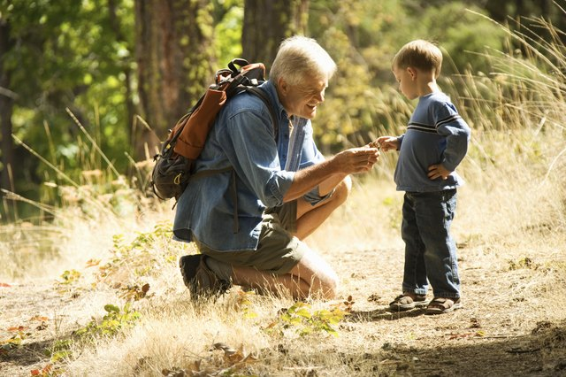 Spending special time with grandpa can also be a wonderful gift to give.