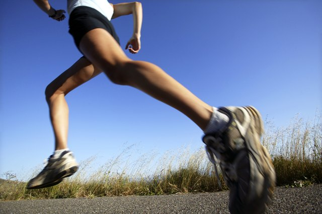 Jogging can burn a large amount of calories.
