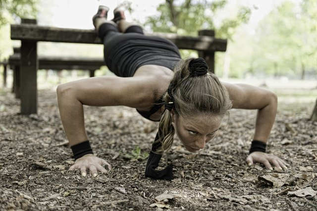 One of the great things about push-ups is that you can do them anywhere.