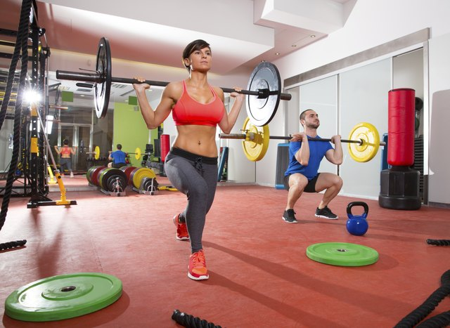 Strength training will help you increase your metabolism and build muscle.