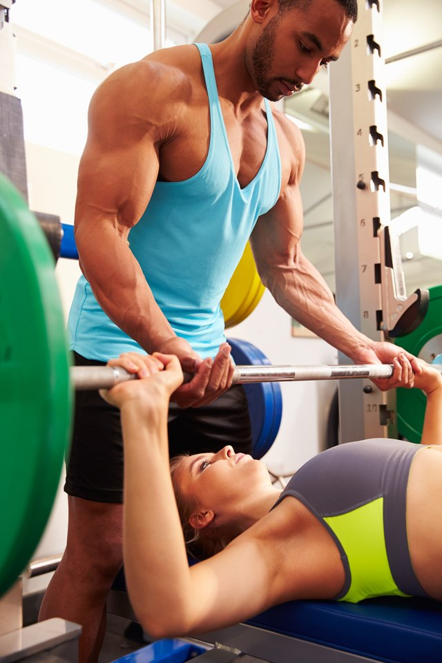 Seek guidance when starting a weight-training program.