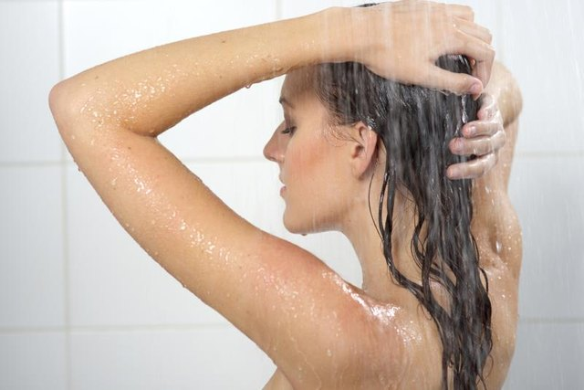 Sulfate-free shampoos don't lather like a traditional shampoo.
