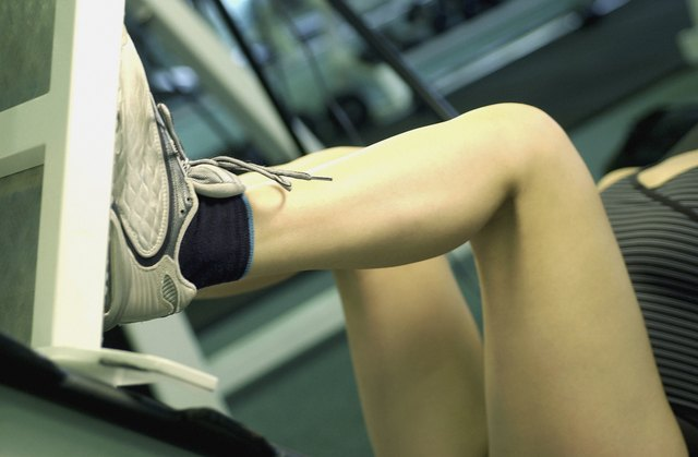 Instead of working on your upper body strength, focus on your legs.