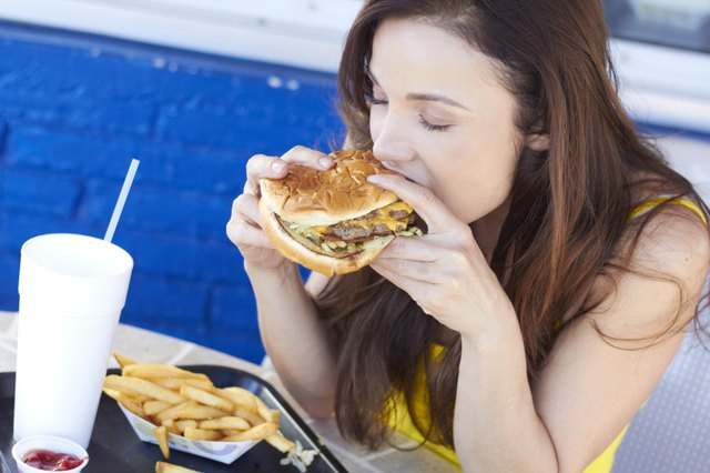Diets high in fast food put you at risk for type-2 diabetes.