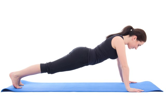 The top of the push-up is usually the easiest phase.