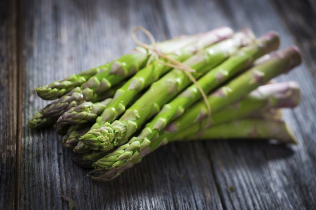Asparagus is a good source of Niacin.
