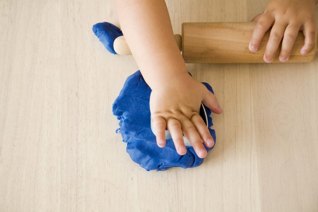 Many hands-on activities help children with Down Syndrome develop fine motor skills.