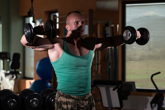 Lateral raises can increase pain with shoulder impingement.